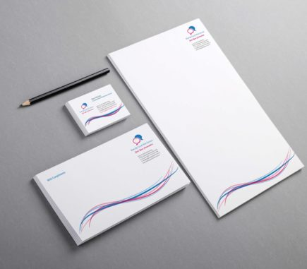Wide Bay Social Work stationery