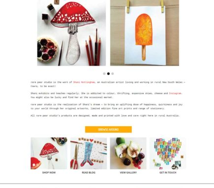 rare-pear-studio-website