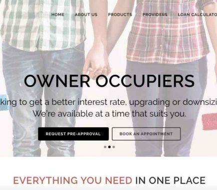 Chardon Home Loans website