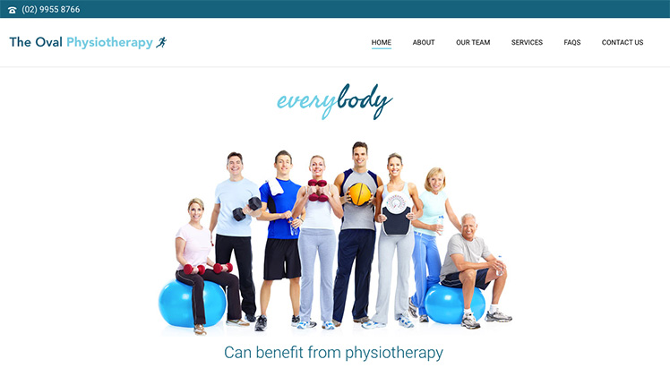The-Oval-Physio-Website