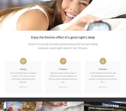Domino-Beds-website