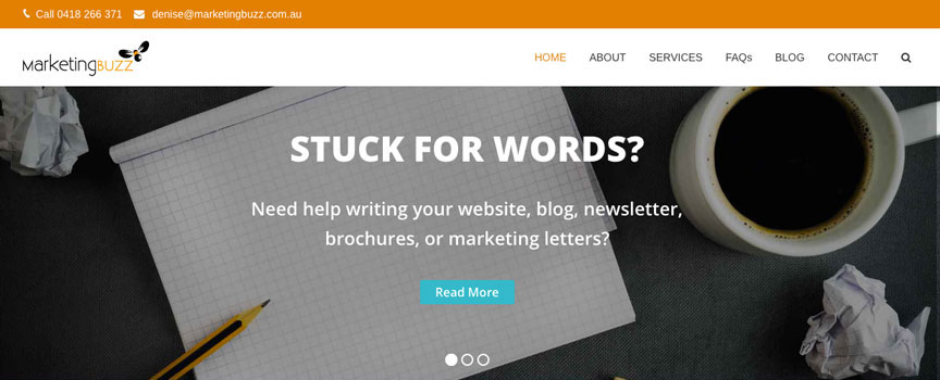 Marketing-Buzz-Website