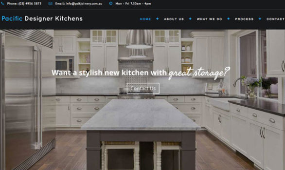 Pacific-Designer-Kitchens-website
