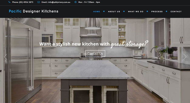 Pacific-Designer-Kitchens-website