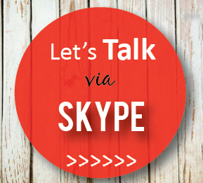Let's talk via Skype