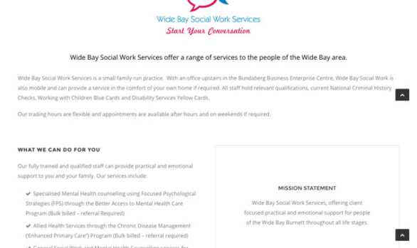 wide-bay-social-work-website
