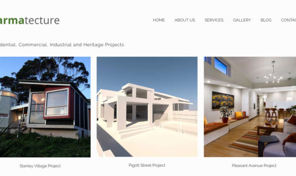 karmatecture-website-design